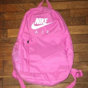 hot pink nike bookbag